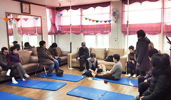 장애인커뮤니티모임<손·발마사지교육> by wizone